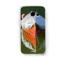 boat on lake Samsung Galaxy Case/Skin