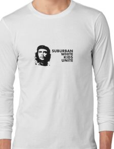 Suburban White Kids Unite Long Sleeve T-Shirt