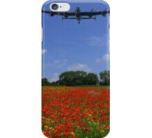 Poppy field flypast iPhone Case/Skin