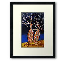BOAB TREES Framed Print