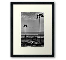 Watching at horizon Framed Print
