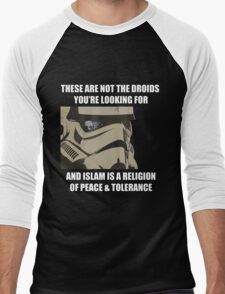 These Are Not The Droids Men's Baseball ¾ T-Shirt