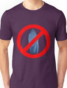 Banned Burka Image Unisex T-Shirt