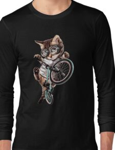Bmx Cat Long Sleeve T-Shirt