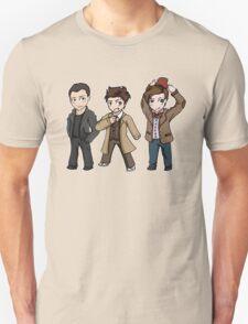 Superwholock - Doctor Who Chibis Unisex T-Shirt