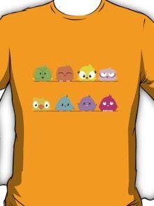 Cute funny cartoon birds T-Shirt