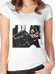 Catwoman Women's Fitted Scoop T-Shirt