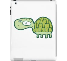 Funny cartoon turtle iPad Case/Skin
