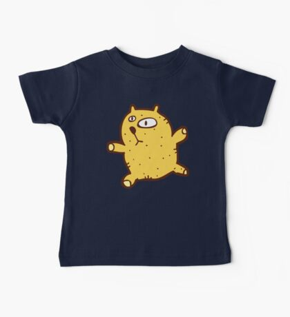 Sketchy cartoon teddy bear Baby Tee