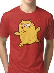 Sketchy cartoon teddy bear Tri-blend T-Shirt