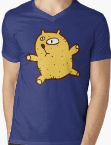 Sketchy cartoon teddy bear Mens V-Neck T-Shirt