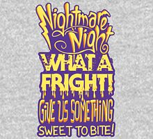 Nightmare Night! Womens Fitted T-Shirt