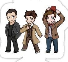 Superwholock Chibis Sticker