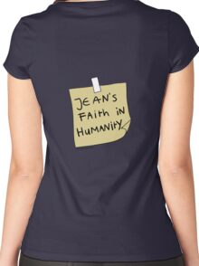Jean's Faith in Humanity Women's Fitted Scoop T-Shirt