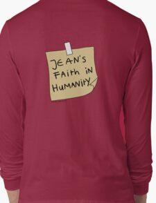Jean's Faith in Humanity Long Sleeve T-Shirt