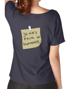 Jean's Faith in Humanity Women's Relaxed Fit T-Shirt