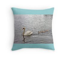 Do we choose love or does it choose us?  Throw Pillow