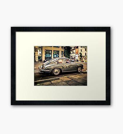 Porsche 356 Oldtimer Framed Print
