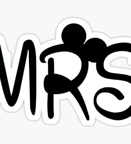 Mrs. Mouse  Sticker