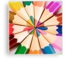 Colours Canvas Print