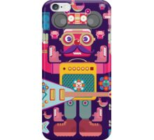 vector band and musicians  iPhone Case/Skin