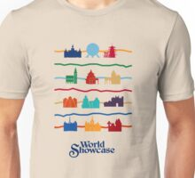 World Showcase Pavilions Unisex T-Shirt