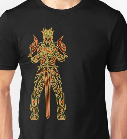 Golden Warrior of the Sun Unisex T-Shirt
