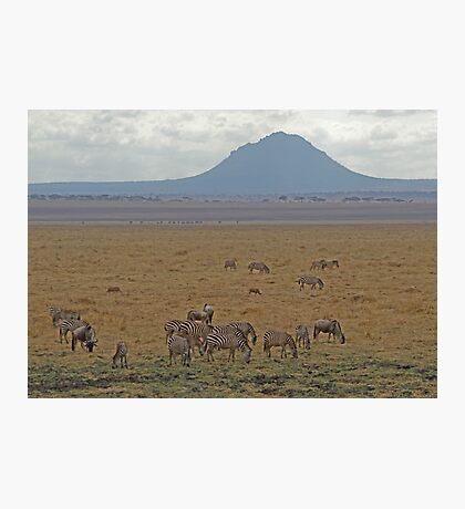 Tanzanian Landscape Photographic Print