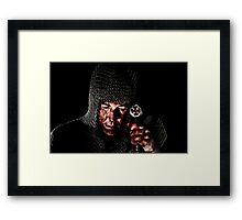 Repentance of a Templar Framed Print