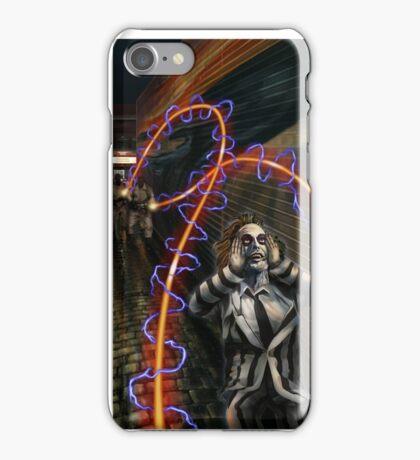 Busted Beetlejuice iPhone Case/Skin