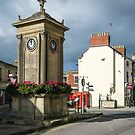 The four clocks in Stroud by Jeff  Wilson