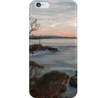 Spikey Beach Sunrise. iPhone Case/Skin