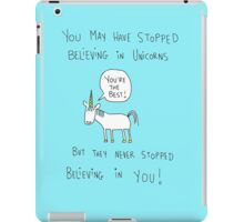 Believing in Unicorns iPad Case/Skin