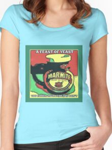 MARMITE..YOU DO OR YOU DON'T  Women's Fitted Scoop T-Shirt