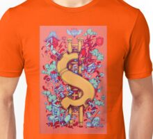 """This is what people fighting for """"money"""" Unisex T-Shirt"""