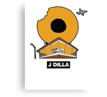 J DILLA DONUTS Canvas Print