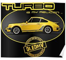 DLEDMV - Turbo is my religion Poster