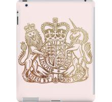 Coat of Arms - Great Britain  iPad Case/Skin