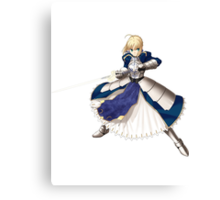 Fate/stay night - Saber Canvas Print