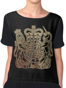 Coat of Arms - Great Britain  Chiffon Top