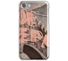 10687 Neon Shoe Repair iPhone Case/Skin