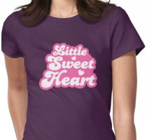 Little SWEET HEART! in cute pink Womens Fitted T-Shirt