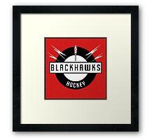 Blackhawks Hockey Framed Print