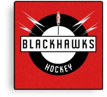Blackhawks Hockey Canvas Print