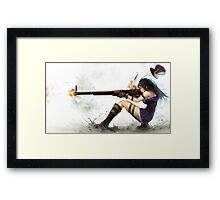 Caitlyn The Sheriff Of Piltover (League of Legends) Framed Print