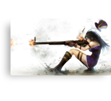 Caitlyn The Sheriff Of Piltover (League of Legends) Canvas Print