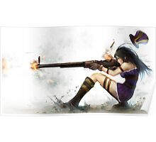 Caitlyn The Sheriff Of Piltover (League of Legends) Poster