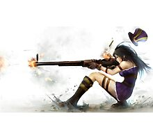 Caitlyn The Sheriff Of Piltover (League of Legends) Photographic Print