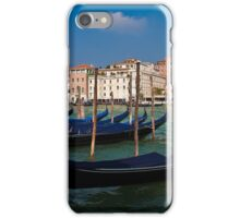 Italy. Venice. Grand Canal. Gondolas. iPhone Case/Skin