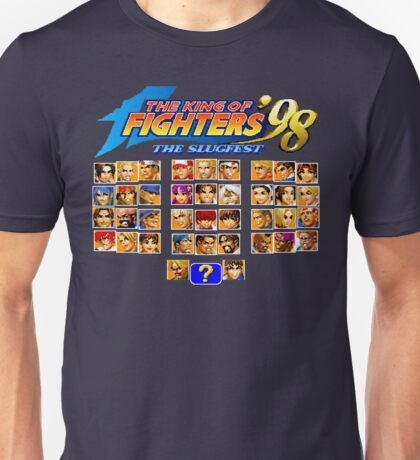 the King of Fighters '98 (Neo Geo Character Select) Unisex T-Shirt